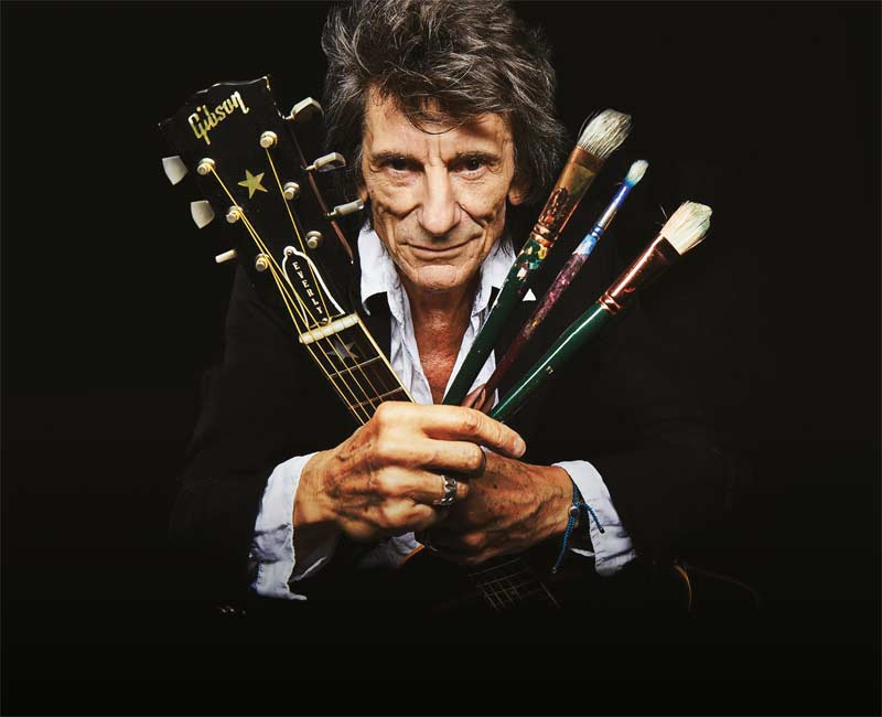 Ronnie Wood: Somebody Up There Likes Me thumbnail